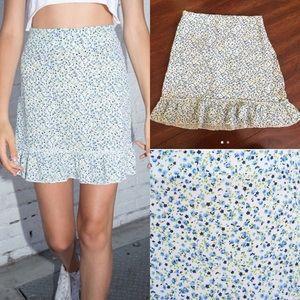Brandy Melville Cara Ruffle Skirt